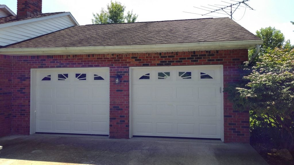 Install New Garage Doors - After